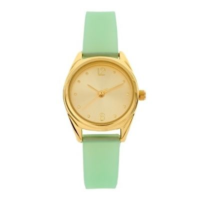 Pastel Jelly Watch / ASOS Collection #watch: Pastel Jelly, Mint Jelly, Mint Green, Asos Pastel, Mint Gold, Green Watches, Gold Watches, Mint Watches, Jelly Watches