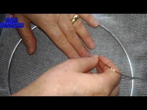 Saten Kumaş Üzerine Tel Kırma Nasıl Yapılır - YouTube