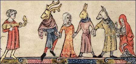 ODKAZ NA ZAJIMAVY ZDROJ O STREDOVEKEM DIVADLE #mummers #middleage #medievaltheatre #medievaltheater http://www.luminarium.org