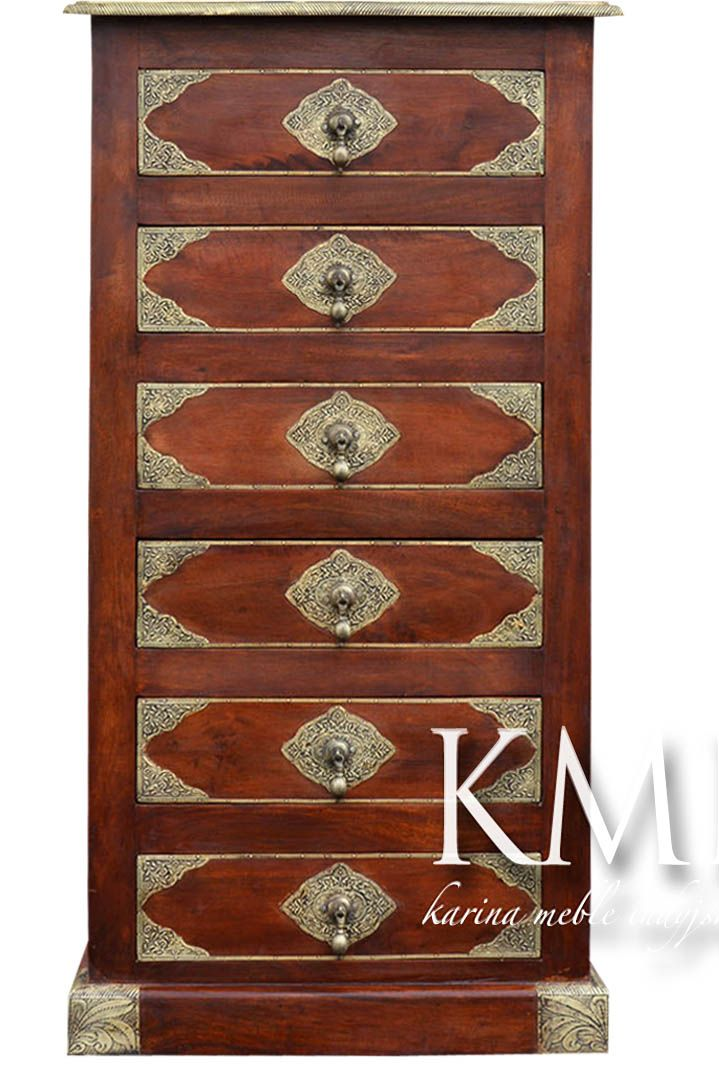 meble orientalne   komoda z szufladami