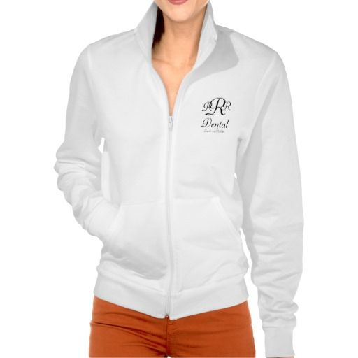 Monogram Dental Gifts Printed Jacket. Create your own and earn 15% on every sale! Start earning money today, sign up at http://www.zazzle.com/progifts* #dentistry #dentist @socialdentalnet @sundentallabs @villanovadental