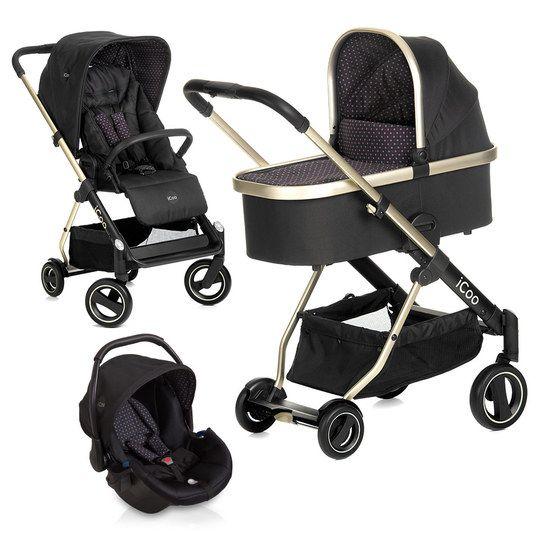 Praktisch, sicher und gutaussehend: Das Acrobat XL Plus Trioset - Diamond Caviar ist wohl die eleganteste Lösung, um Dein Baby überallhin mitzunehmen. Bestehend aus einem leichten Alu-Gestell mit höhenverstellbarem Schieber, komfortabler Babywanne, umsetzbarer Sitzeinheit und Babyschale bist du zu Fuß und mit dem Auto bestens ausgestattet.