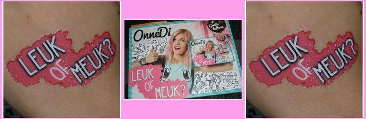 Leuk of Meuk? OnneDi FC Klap vlog YouTube tattoo vloggers boek recensie review