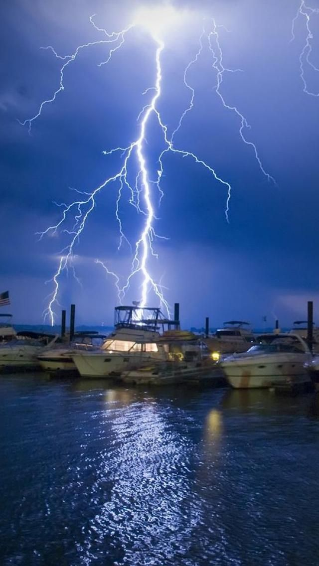 Stunning lightning bolt.