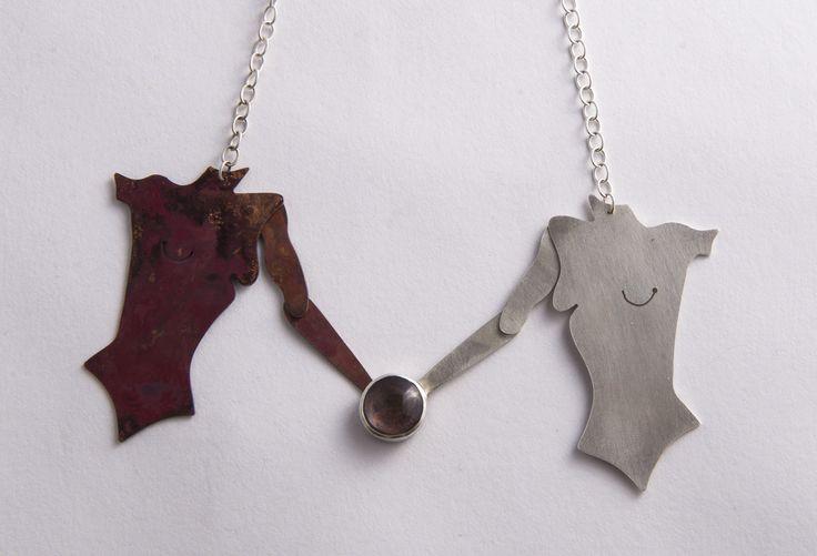 Torso Necklace by Rosita Bailey-Rosse
