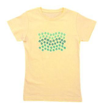 Polka Dots Waves Girl's Tee