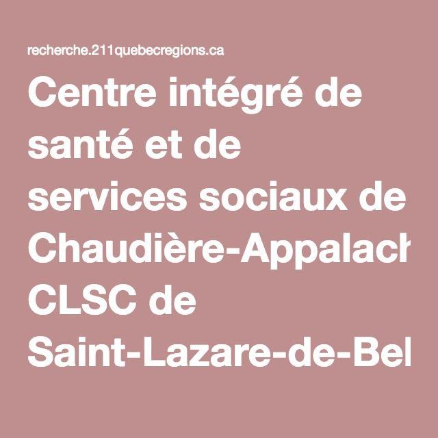 Centre intégré de santé et de services sociaux de Chaudière-Appalaches, CLSC de Saint-Lazare-de-Bellechasse