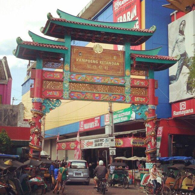 Chinatown, Ketandan. Malioboro, Yogyakarta, Indonesia.