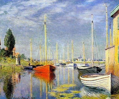 A Young Knight Travel: Impresionismo: Claude Monet  - love this
