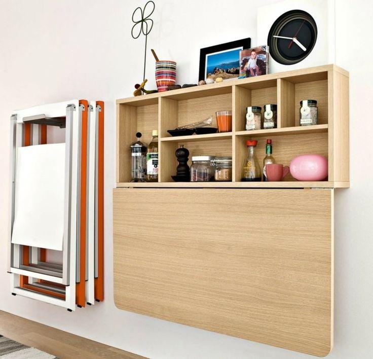 Klapptisch wandmontage küche  Die besten 25+ Klapptisch wand Ideen auf Pinterest | Folding ...