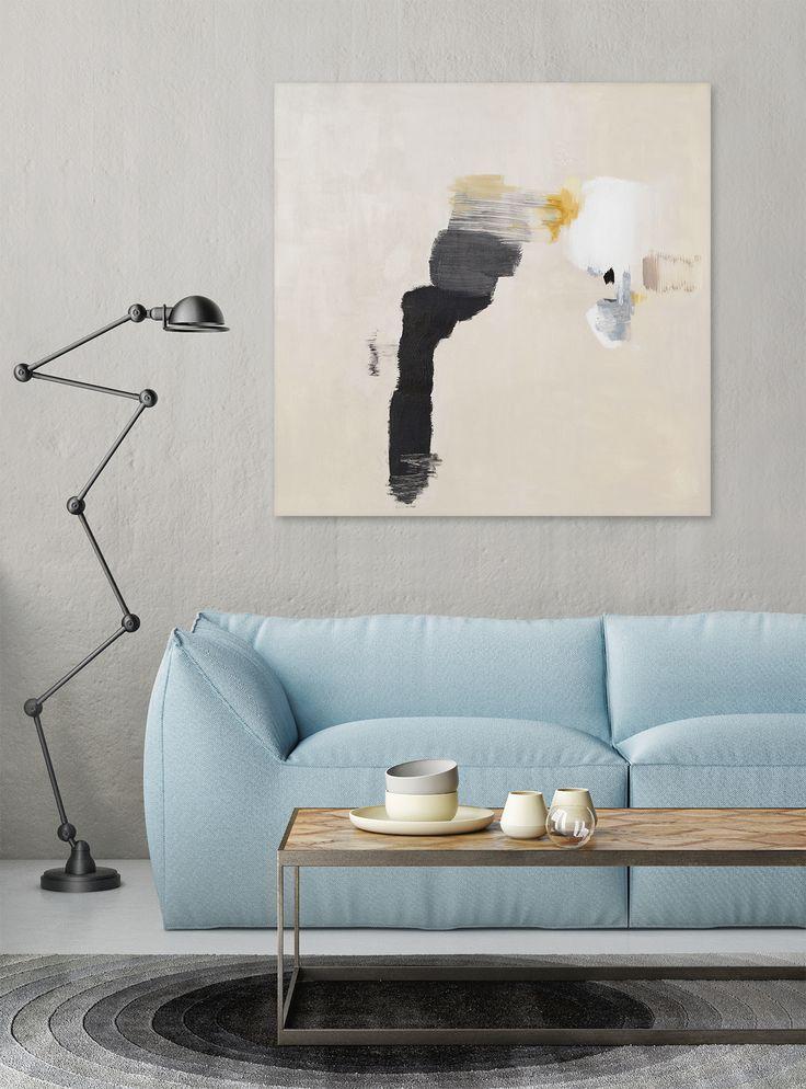 Příjemné zvláštno Umělecké dílo jeautorskou prací Mgr. art. Jany Michalovičové. Malba akrylem na bavlněném plátně s jemnou strukturou | autorský podpis na zadní straně obrazu Originální abstraktní umění do moderního interiéru. Spojením černo-bílé barvy s odstíny béžové a žluté vznikla harmonická kompozice. Vzniklé útvary jsou velmi zajímavé svým...