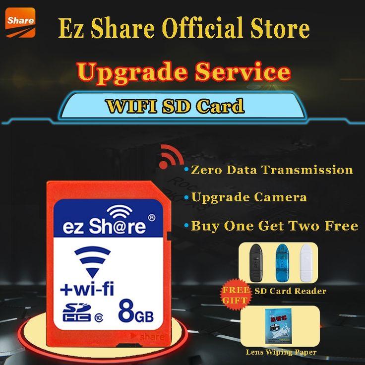 21.65$  Buy here - Original Real Capacity ez-Share WIFI Share SD Card 8GB Class 10 SDHC Flash Memory SD Card 8 GB cartao de memoria Free Shipping   #bestbuy