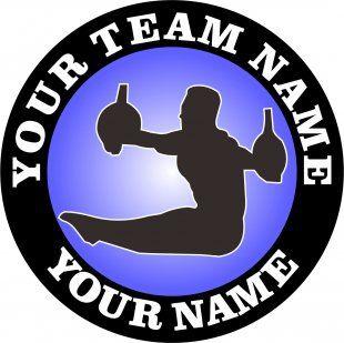 Customized Gymnastics Logo 05