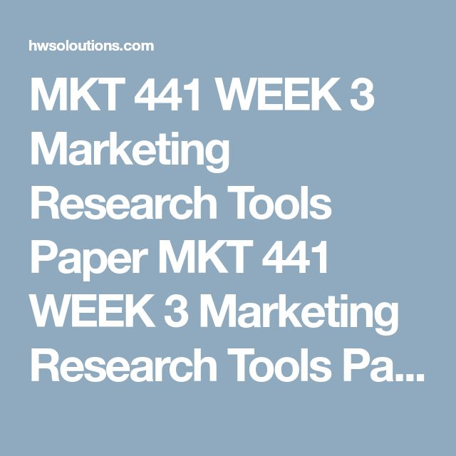 MKT 441 WEEK 3 Marketing Research Tools Paper MKT 441 WEEK 3 Marketing Research Tools Paper  Resources: Internet, University Library  Write a 1,050- to 1,400-word paper in which you differentiate among the research tools used in primary and secondary research. In your paper, discuss the differences in primary and secondary research when using qualitative and quantitative approaches and indicate which tools are used for each approach and why.  Format your paper consistent with APA guidelines…