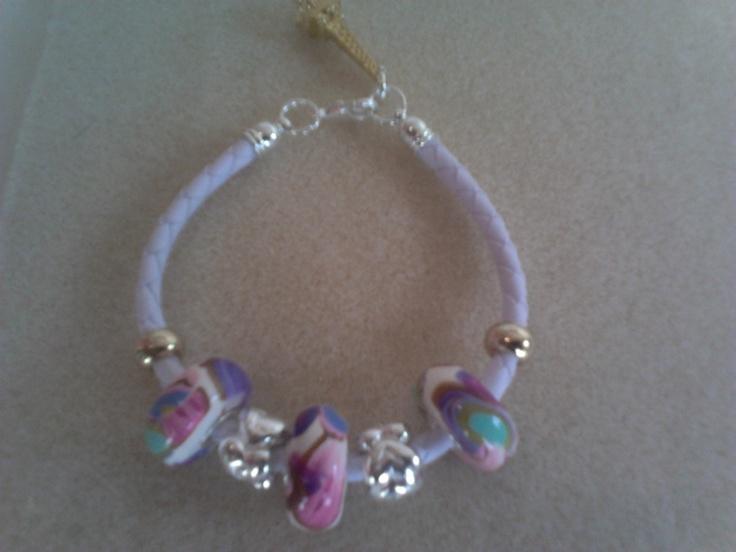 Bracelet polymer clay beads...
