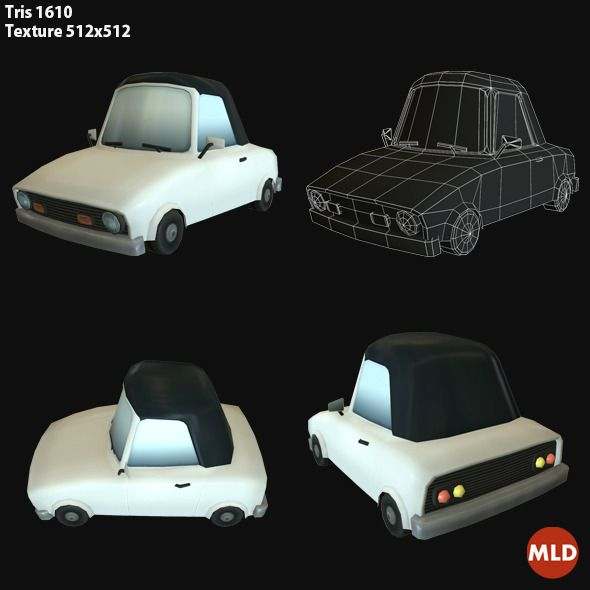 1000+ Images About Low Poly/Toon Cars On Pinterest
