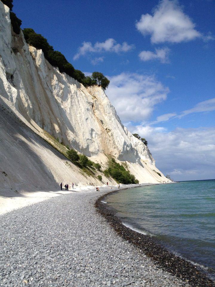 Stranden Møns Klint
