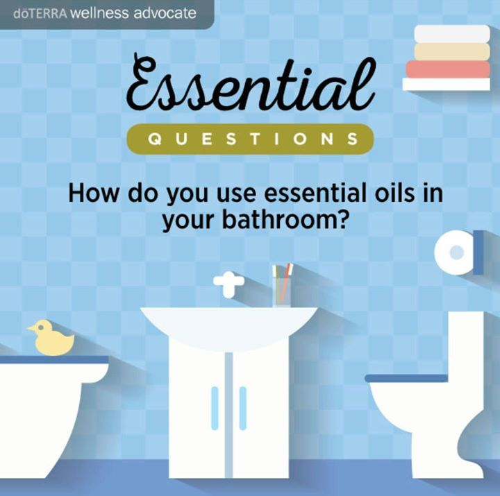 How do you use essential oils in your bathroom? http://ift.tt/2lh5wlz
