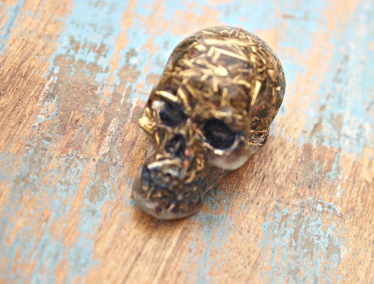 Orgone Energy Skull created by Chezart