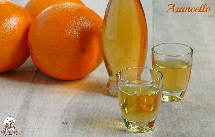 Arancello liquore di arance biologiche