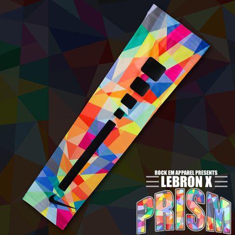 215eb7013df Lebron Prism Custom Nike Elite Sleeve
