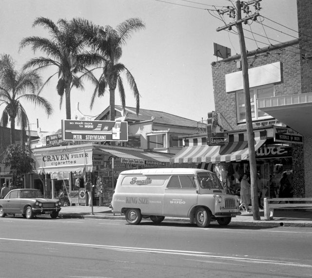 centre arcade, surfers paradise, 1967