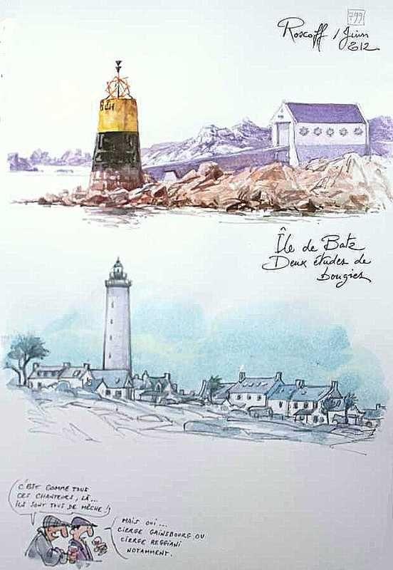 Une Bretagne par les Contours / Île de Batz