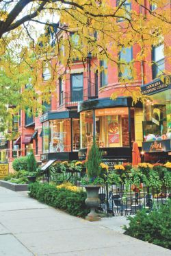 Beautiful Newbury Street. Home to the BAC and #Boston's best shopping and resturaunts.