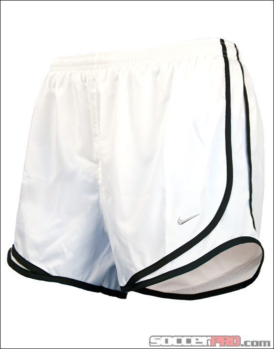 Nike Womens Tempo Shorts - White with Black...$28.79