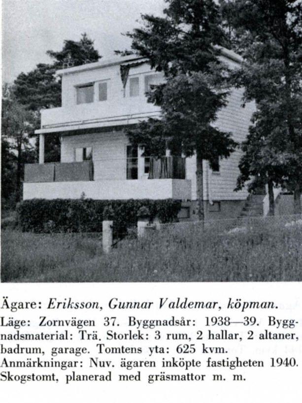 Södra Ängby - Zornvägen 37