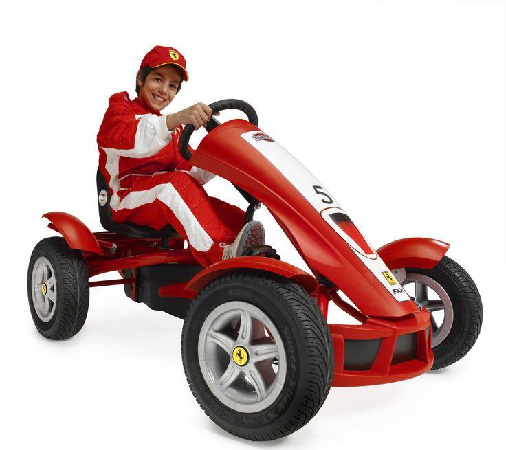 Berg Toys Ferrari FXX Racer Pedal Go Kart & Reviews | Wayfair