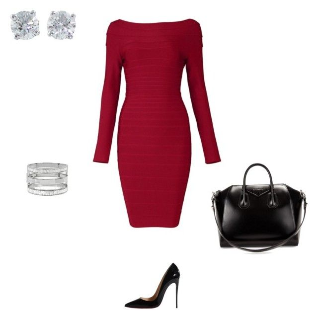 """""""Presentation ready!"""" by temra-taylor on Polyvore featuring Christian Louboutin, Givenchy, Tiffany & Co. and Kenneth Cole"""