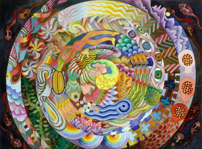 suite de Fibonacci la spirale du solistice en couleurs