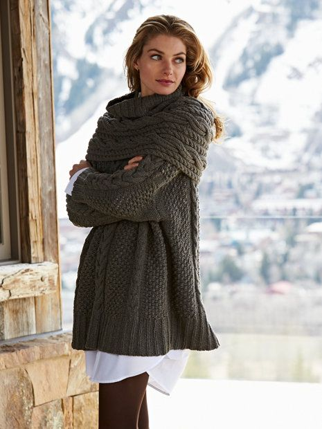 gstaad sweater & shrug - sweaters - women - Gorsuch