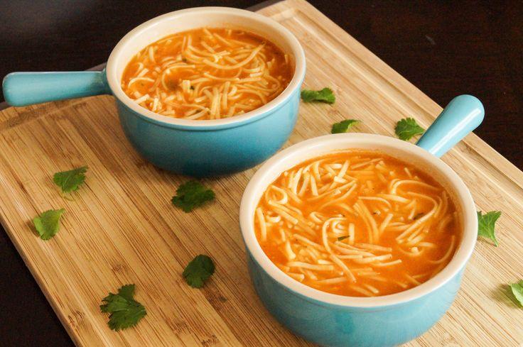 Sopa de Fideos (Mexican Noodle Soup)