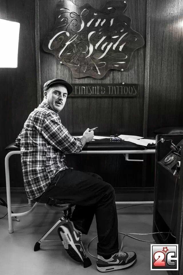 Sins of style tattoo studio,  Tyler B Murphy