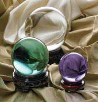 Crystal Balls love these ....am collecting as many as I can get my hands on