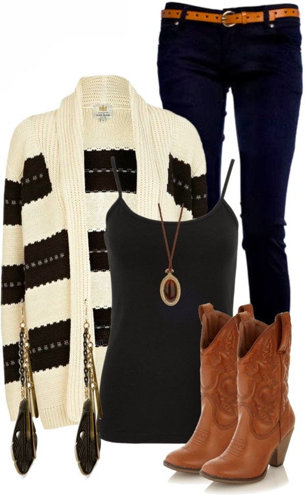 Lovely Warm Outfit Fashion With Cute Cardigan
