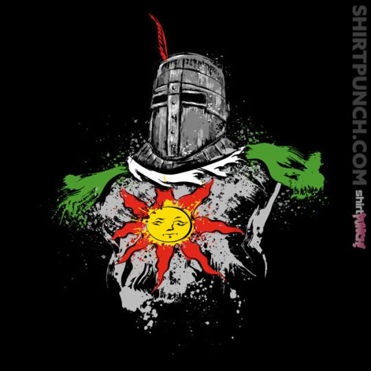 """""""Praise the Sun"""" by Dr. Monekers is $10 today at ShirtPunch.com (09/12)."""