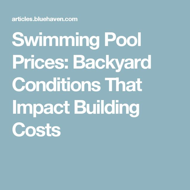 25 Best Ideas About Swimming Pool Prices On Pinterest Pool Shapes Swimming Pools And