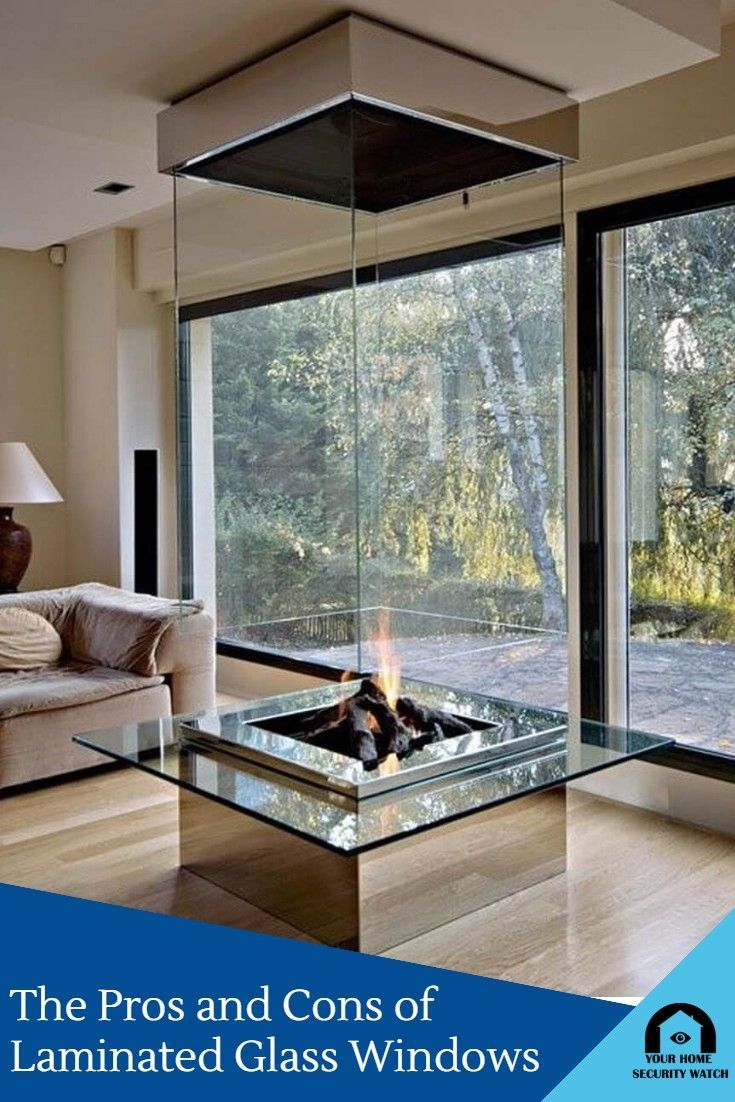 What Is Laminated Glass And What Are The Benefits In 2020 Glass Fireplace Contemporary Decor Living Room Corner Fireplace
