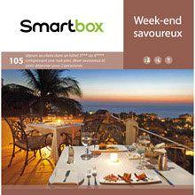 Coffret cadeau Week-end savoureux prix Coffret Smartbox 164,90 TTC