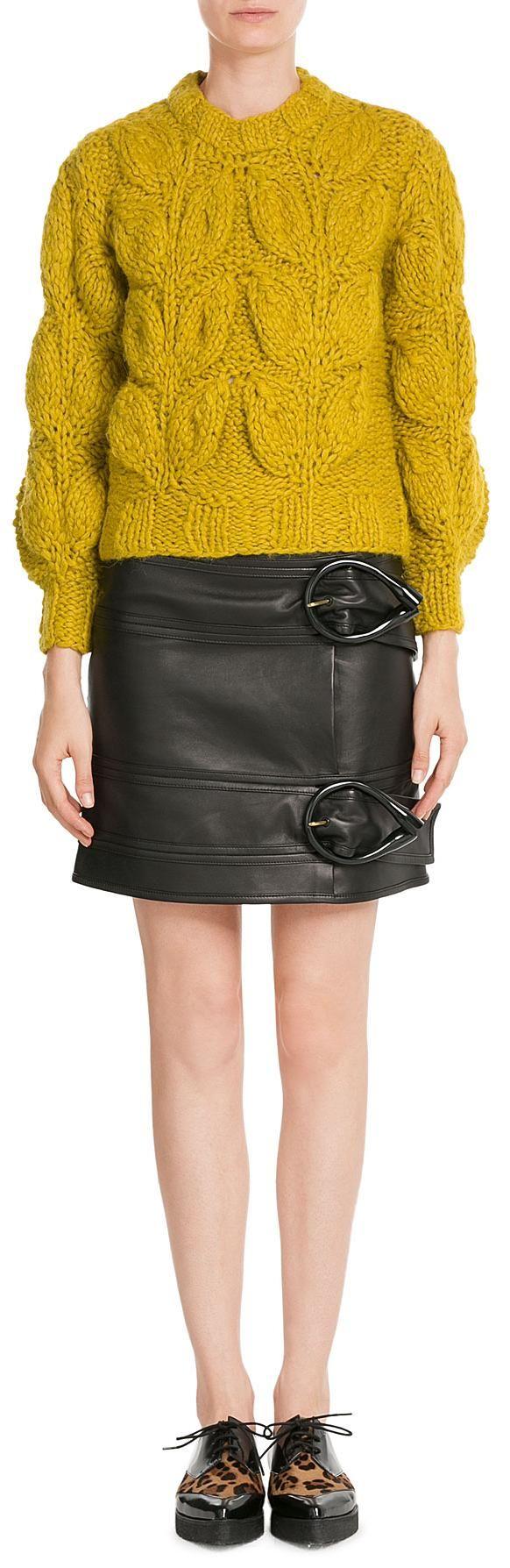 Maison Margiela Chunky Knit Pullover