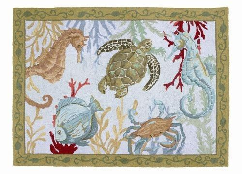 Find This Pin And More On Beach Themed Area Rugs.