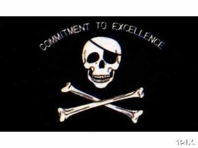 Commitment to Excellence Pirate Flag NEW 3x5 Raiders by Pirate Flag. $0.53. 2 Metal Grommets For Eash Mounting with Canvas Hem for long lasting strength. FAST SHIPPER: Ships in 1 Business Day; usually the Same Day if pmnt clears by noon CST. Express International Shipping is Global Express Mail (2-3 days). 3 Foot by 5 Foot, Indoor-Outdoor, Lightweight Polyester Flag with Sharp Vivd Colors. Express Domestic Shipping is OVERNITE 98% of the time, otherwise 2-day....