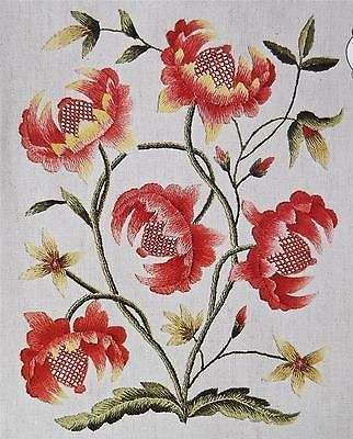 Pomegranate Elsa Williams Jacobean Floral KC384 Vintage Crewel Embroidery Kit