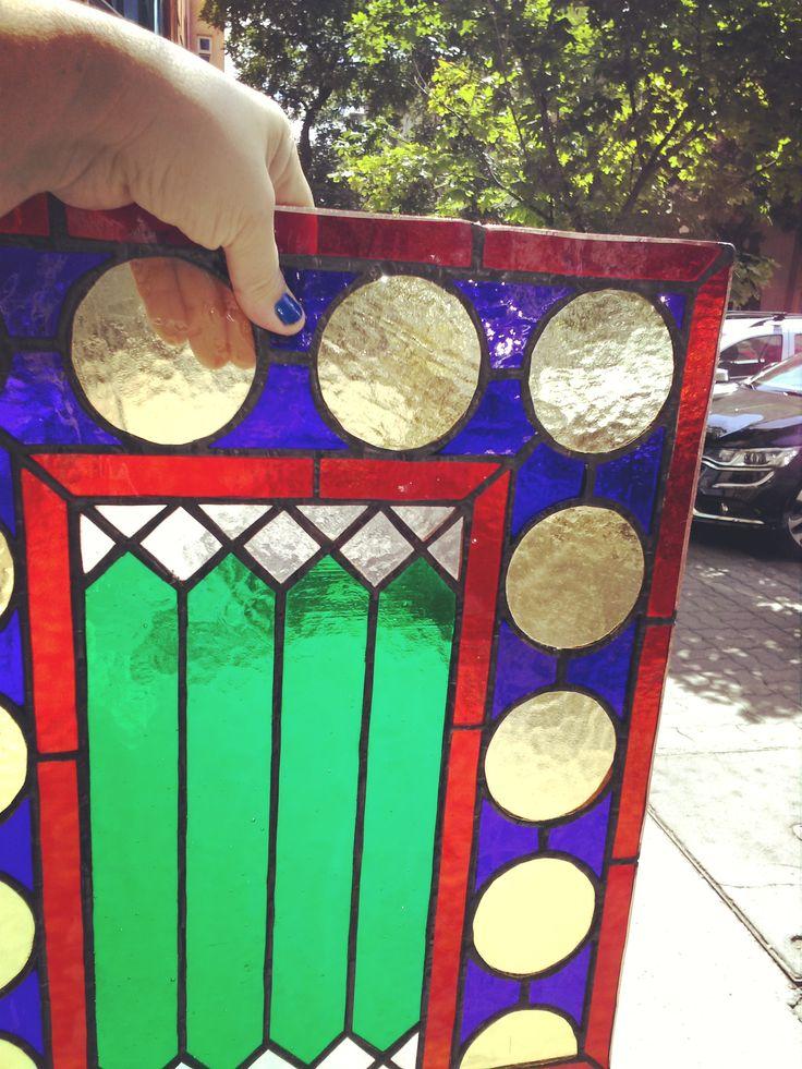 New steindeglass! In Budapest! From 6 details, the first!  Új ólomüveg! Városmajor, Budapest 6 részes ólomüveg ablak, első részlet. #ólomüveg #olomuveg #steinedglass #steinedglasswindow