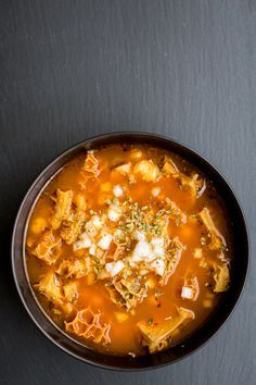 Mexican Tripe Soup (Pancita/Menudo) | The Domestic Man