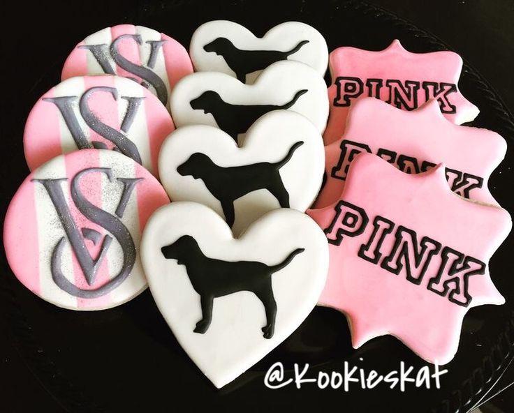 Victoria Secret Sugar Cookies  Pink Cookies