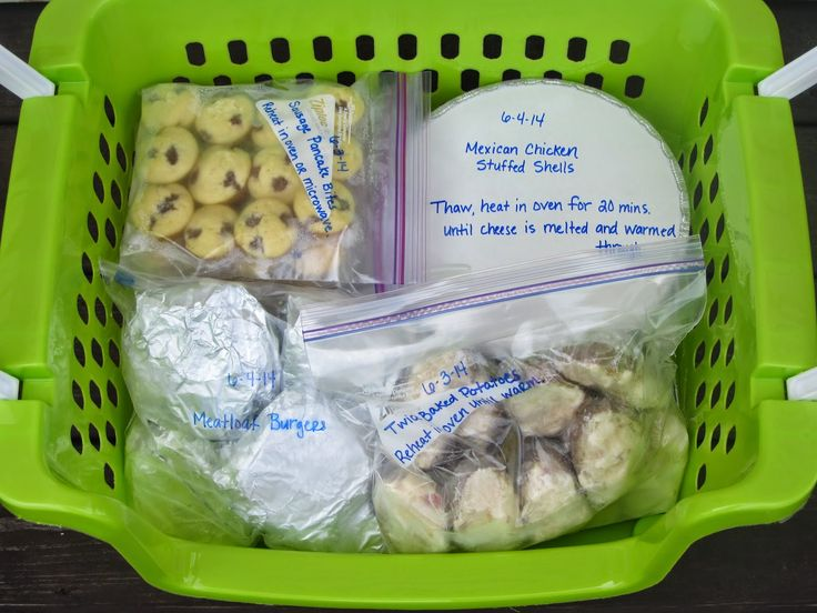 Been There Baked That: Freezer Meal Basket